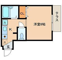Aiマンション[10A号室]の間取り
