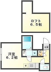 House H[103号室]の間取り