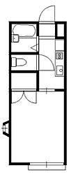 ソフィア青木葉3[1階]の間取り
