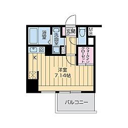 プライムアーバン江坂III[0906号室]の間取り