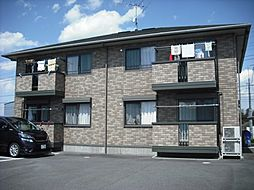 茨城県龍ケ崎市白羽3丁目の賃貸アパートの外観