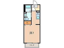 シャーメゾン06[1階]の間取り
