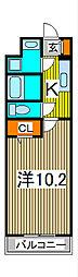 埼玉県さいたま市南区鹿手袋7丁目の賃貸マンションの間取り