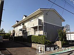 愛知県豊田市豊栄町3丁目の賃貸アパートの外観