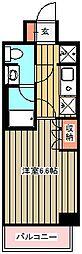 東京都小金井市本町2丁目の賃貸マンションの間取り