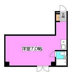 セゾン新秋津[4階]の間取り