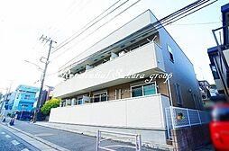 神奈川県横浜市金沢区富岡東3丁目の賃貸アパートの外観