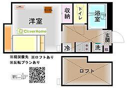 神奈川県横浜市瀬谷区瀬谷2丁目の賃貸アパートの間取り