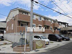 愛知県名古屋市天白区梅が丘1丁目の賃貸アパートの外観