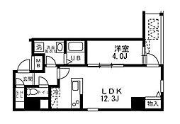 ALIKA向島(アリカ向島)[11階]の間取り