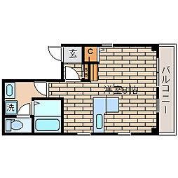 兵庫県神戸市須磨区戎町1丁目の賃貸マンションの間取り