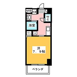 サン・名駅南ビル[7階]の間取り