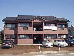 新潟県新発田市東新町2丁目の賃貸アパートの外観
