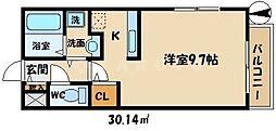 グローフラール[2階]の間取り