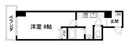 京都烏丸保粋ビル[8階]の間取り