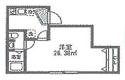 神奈川県横浜市南区中村町2丁目の賃貸アパートの間取り