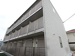 埼玉県八潮市大曽根の賃貸マンションの外観