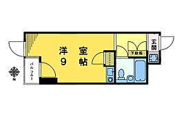 ストークマンション東中野[102号室]の間取り