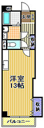 高見フローラルタウン七番街14号棟[8階]の間取り