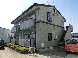 愛知県あま市上萱津白髭の賃貸アパートの外観