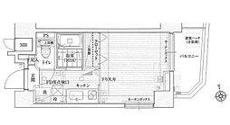 ル・リオン初台[4階]の間取り