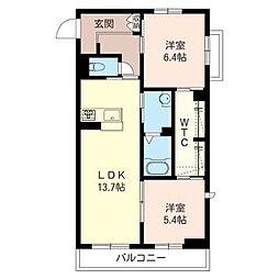仮称 東大宮4丁目シャーメゾン[3階]の間取り