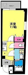 東京都北区十条仲原1丁目の賃貸マンションの間取り