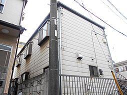 神奈川県横浜市港北区日吉本町1丁目の賃貸アパートの外観