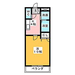 ラフォーレTSUCHIHARA[1階]の間取り