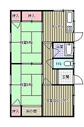 [一戸建] 愛媛県新居浜市松神子2丁目 の賃貸【/】の間取り