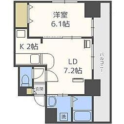 サンコート表参道[8階]の間取り