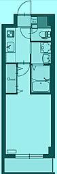 PRIMROSE プリムローズ[2階]の間取り