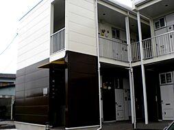 東京都足立区舎人4丁目の賃貸アパートの外観
