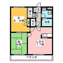 Humming UENO[3階]の間取り