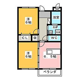 エーデルプラッツ[3階]の間取り