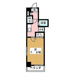 COMFYフルカワ[3階]の間取り
