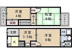 恵我ノ荘駅 3.8万円