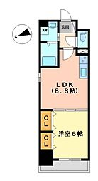 ランドルチェ大須[7階]の間取り