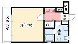 フォルテボナール[2階]の間取り