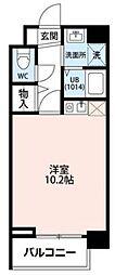 東京都葛飾区柴又3丁目の賃貸マンションの間取り