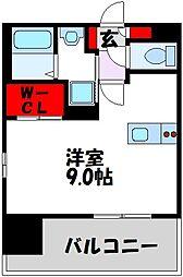 仮)LANDIC 美野島3丁目 14階1Kの間取り