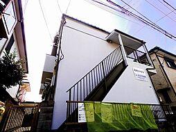 埼玉県所沢市緑町2丁目の賃貸アパートの外観