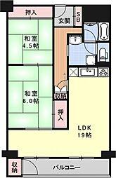 ナカジマンション[303号室号室]の間取り