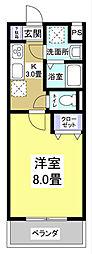MYUII[306号室]の間取り