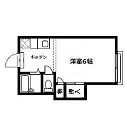 グリーンゲーブル[2階]の間取り