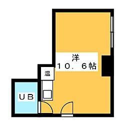ライオンズホテル名古屋[7階]の間取り