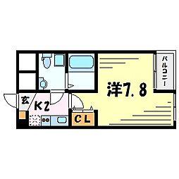 セレニテ甲子園I[1階]の間取り