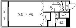 ピースフルV-II[201号室]の間取り