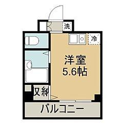 ラフィネ横須賀中央[704号室]の間取り