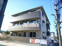 岡山県岡山市中区藤原光町1の賃貸アパートの外観